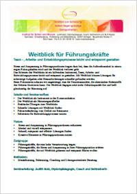 Coaching Seminar Weitblick für Führungskräfte